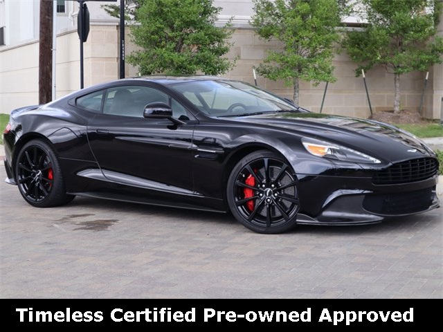 Certified Pre-Owned 2018 Aston Martin Vanquish S RWD 2D Coupe