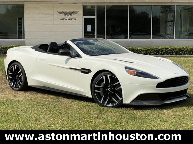 Certified Pre-Owned 2016 Aston Martin Vanquish Volante