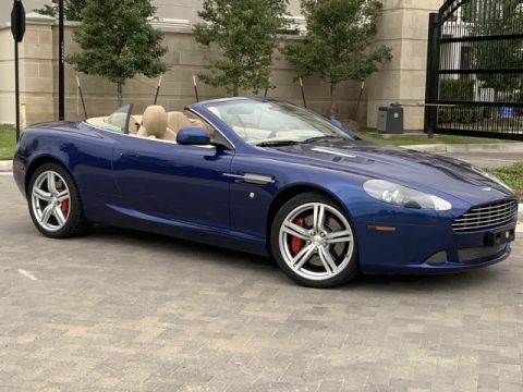 Certified Pre-Owned 2011 Aston Martin DB9 Volante
